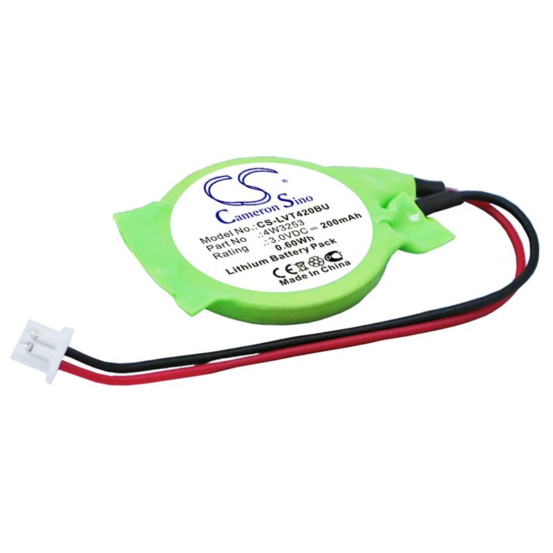 Cameron Sino baterie cmos pro LENOVO Thinkpad T410s 3V Li-ion 200mAh zelená - neoriginální