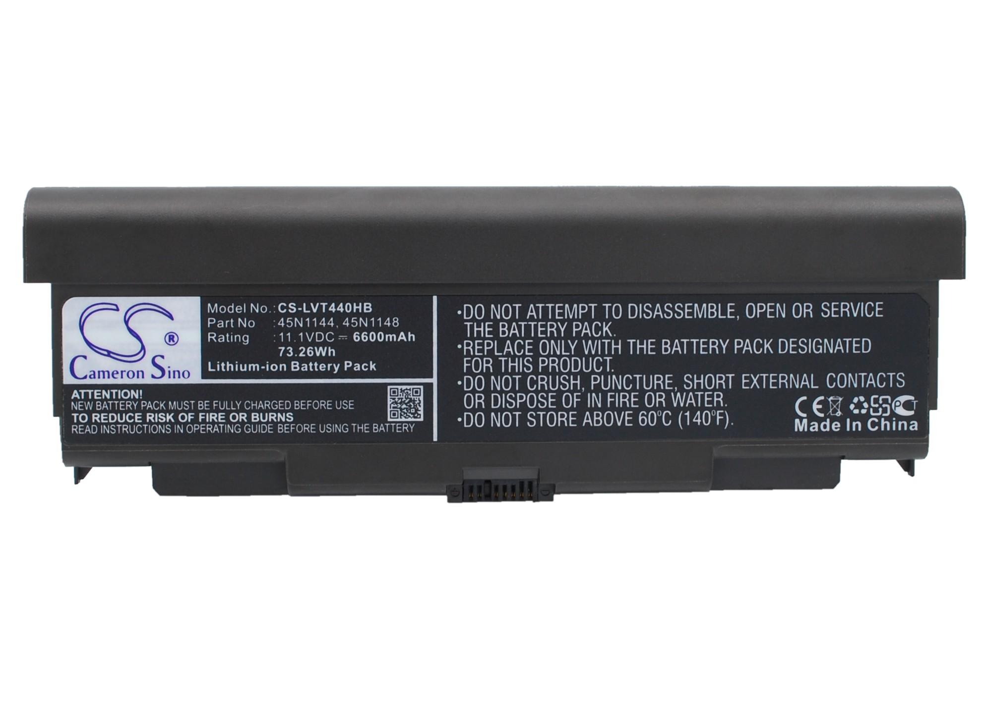 Cameron Sino baterie do notebooků pro LENOVO ThinkPad T440P 11.1V Li-ion 6600mAh černá - neoriginální