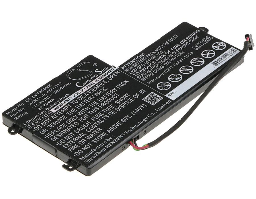Cameron Sino baterie do notebooků pro LENOVO Thinkpad T440 11.4V Li-ion 2000mAh černá - neoriginální