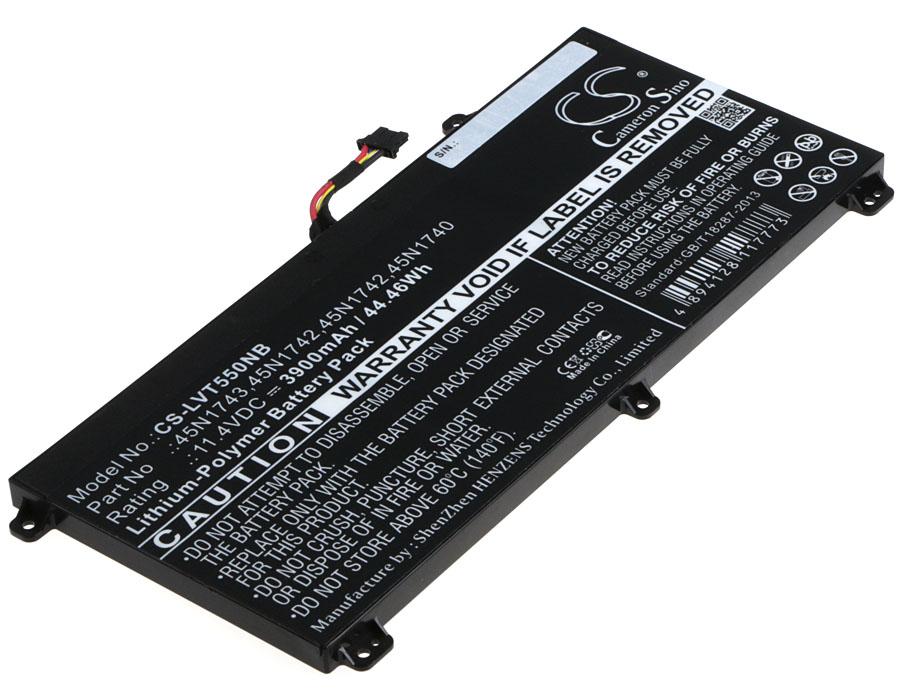 Cameron Sino baterie do notebooků pro LENOVO ThinkPad W550s 11.4V Li-Polymer 3900mAh černá - neoriginální
