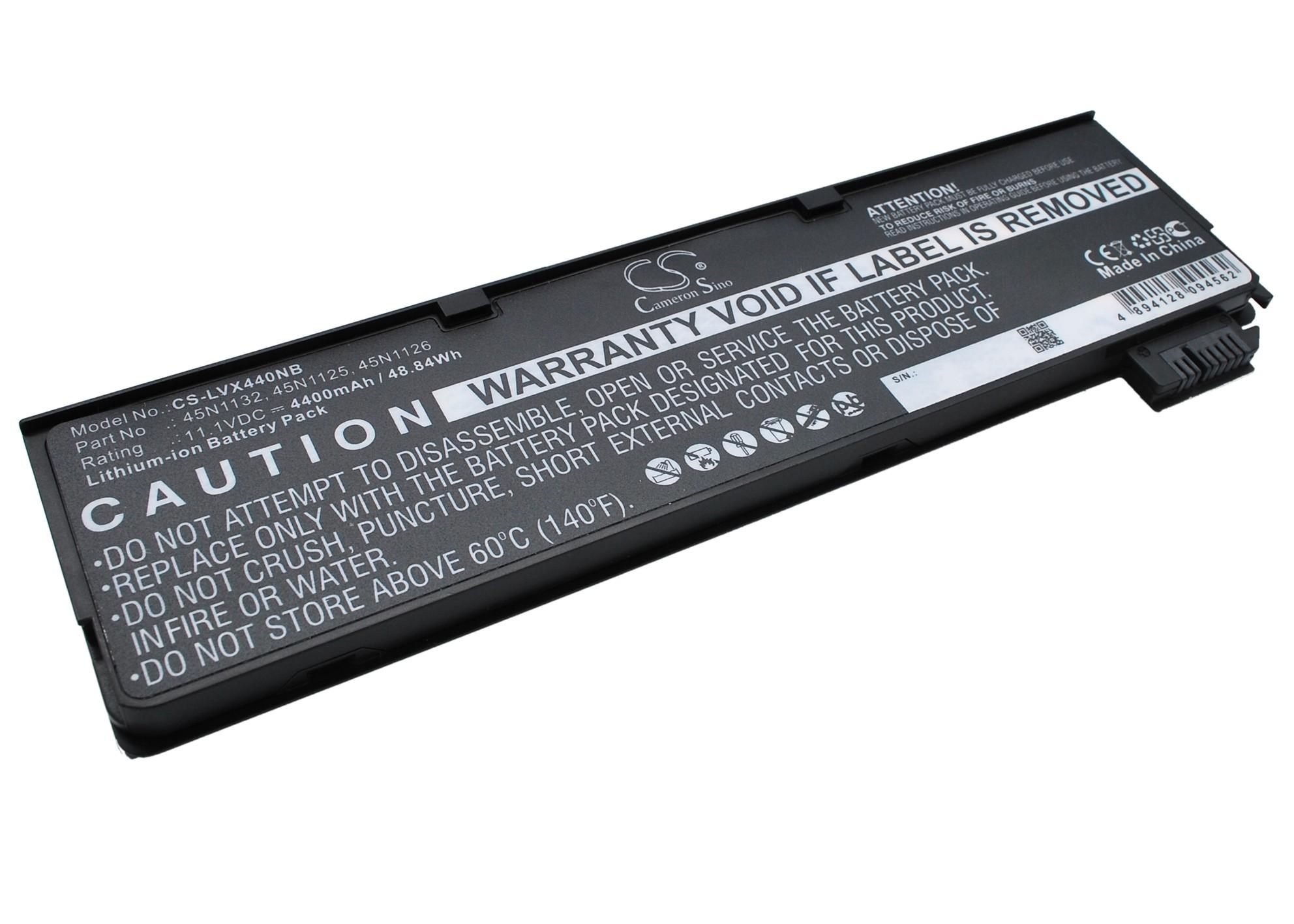 Cameron Sino baterie do notebooků pro LENOVO ThinkPad X240 11.1V Li-ion 4400mAh černá - neoriginální