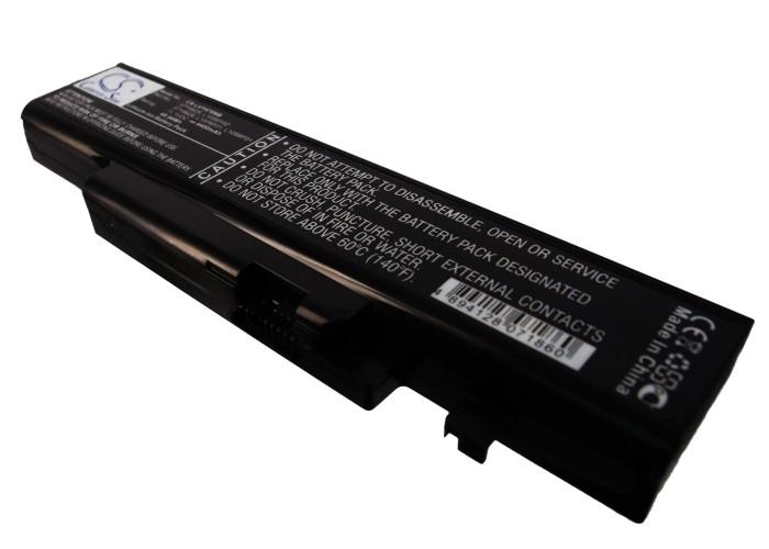 Cameron Sino baterie do notebooků pro LENOVO IdeaPad Y470 11.1V Li-ion 4400mAh černá - neoriginální