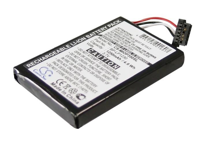 Cameron Sino baterie do navigací (gps) pro NAVIGON Triansonic PNA 4000 3.7V Li-ion 1250mAh černá - neoriginální
