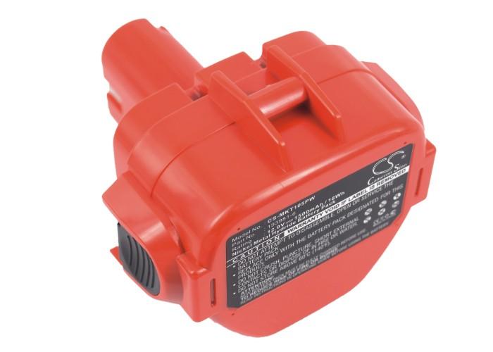Cameron Sino baterie do nářadí pro MAKITA 6270D 12V Ni-MH 1500mAh červená - neoriginální