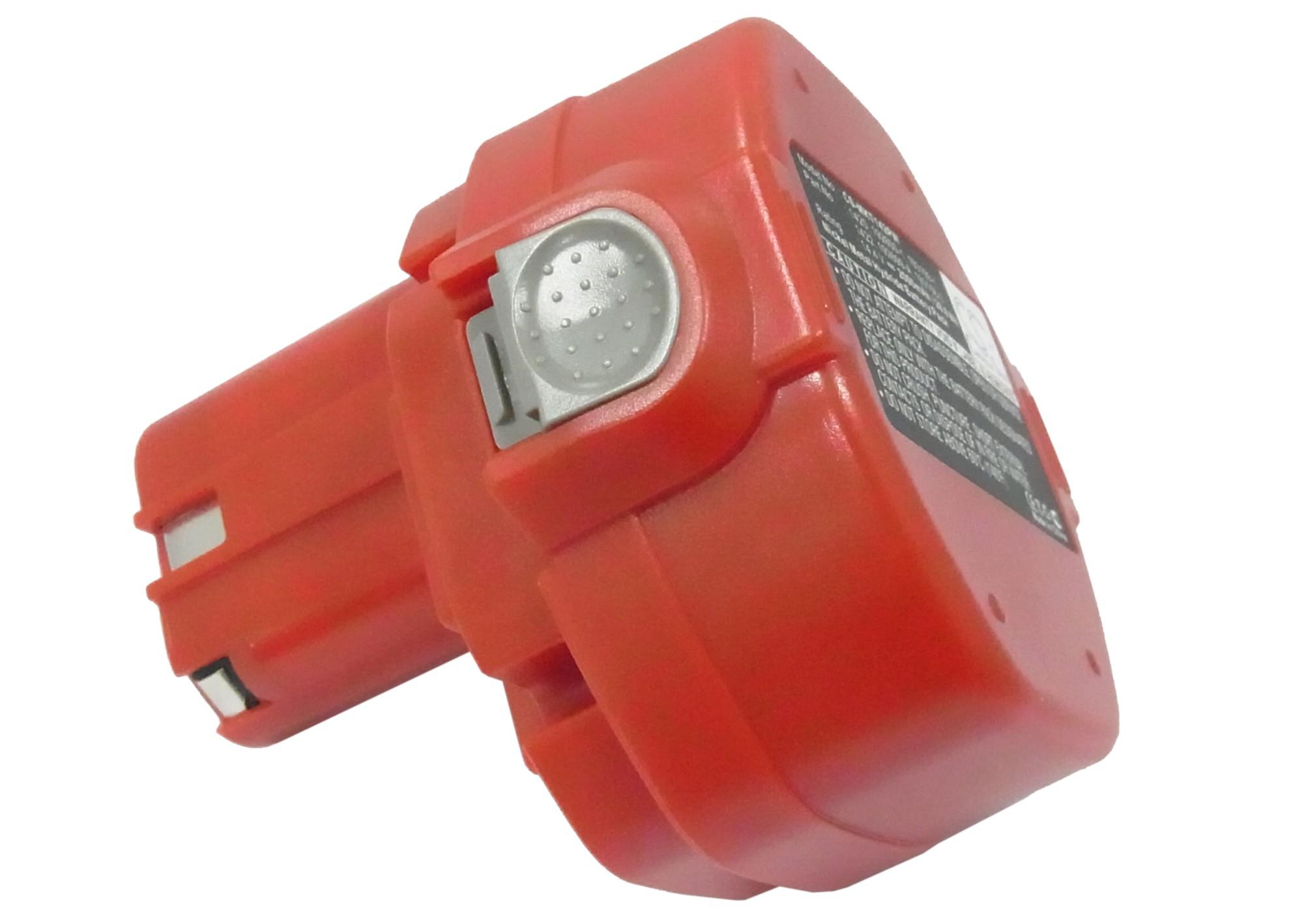 Cameron Sino baterie do nářadí pro MAKITA 6333D 14.4V Ni-MH 2000mAh červená - neoriginální