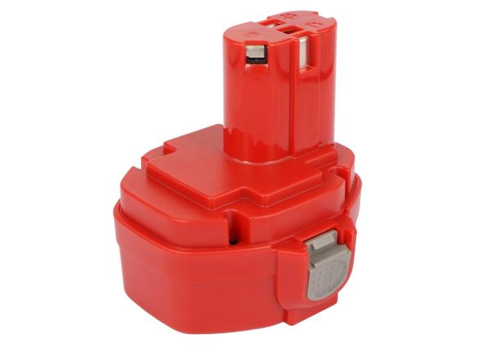Cameron Sino baterie do nářadí pro MAKITA 6333D 14.4V Ni-MH 3000mAh červená - neoriginální