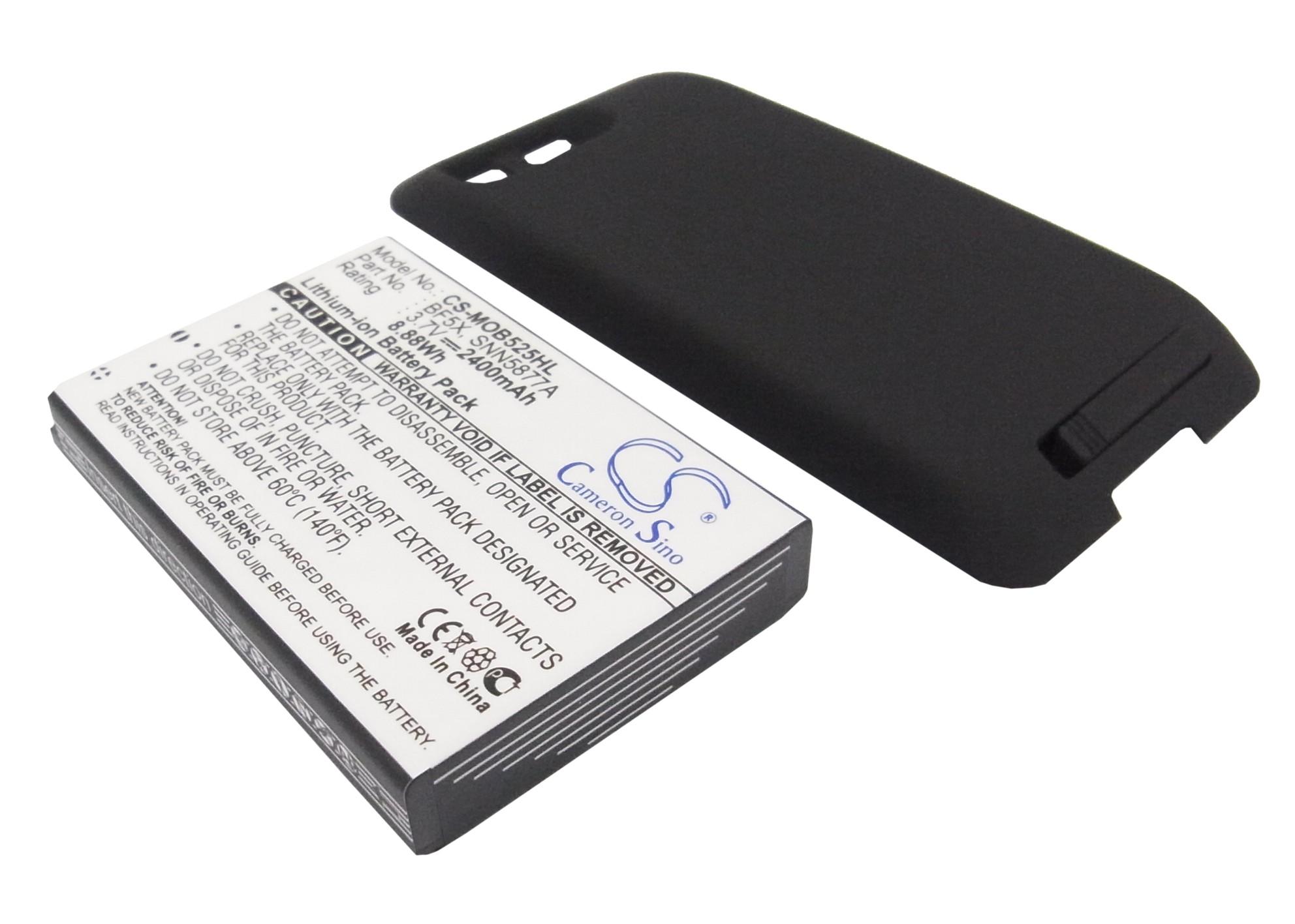 Cameron Sino baterie do mobilů pro MOTOROLA Defy 3.7V Li-ion 2400mAh černá - neoriginální