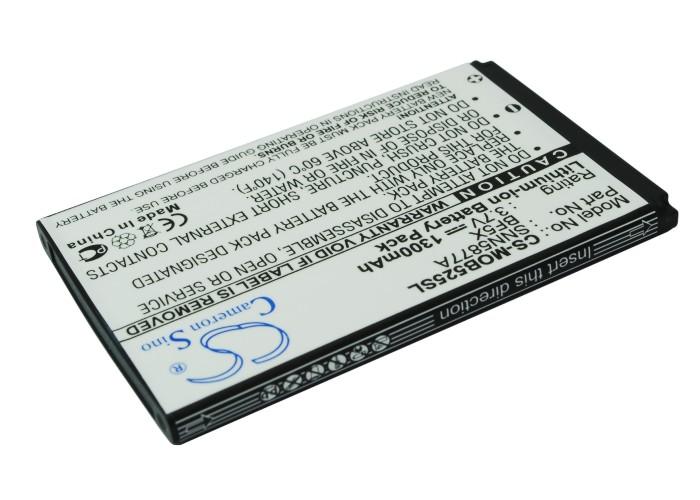 Cameron Sino baterie do mobilů pro MOTOROLA Defy 3.7V Li-ion 1300mAh černá - neoriginální