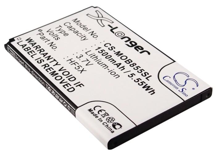 Cameron Sino baterie do mobilů pro MOTOROLA Defy Mini 3.7V Li-ion 1500mAh černá - neoriginální