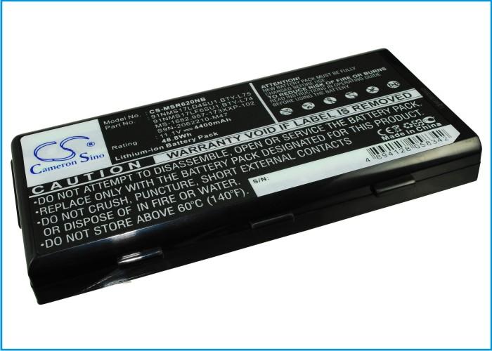 Cameron Sino baterie do notebooků pro MSI MSI A6200 11.1V Li-ion 4400mAh černá - neoriginální