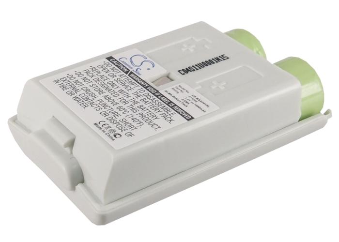 Cameron Sino baterie do herních konzolí pro MICROSOFT Xbox 360 Slim Wireless Controller 2.4V Ni-MH 1500mAh bílá - neoriginální