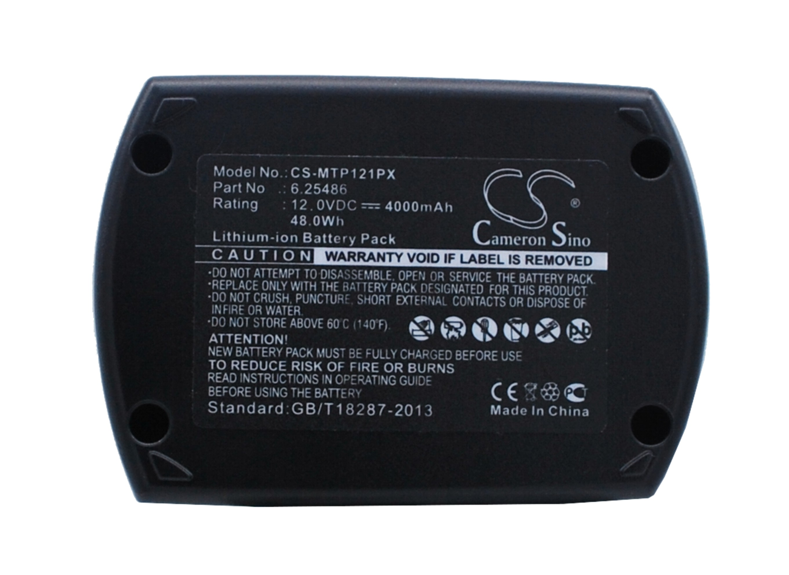 Cameron Sino baterie do nářadí pro METABO BSZ 12 12V Li-ion 4000mAh černá - neoriginální