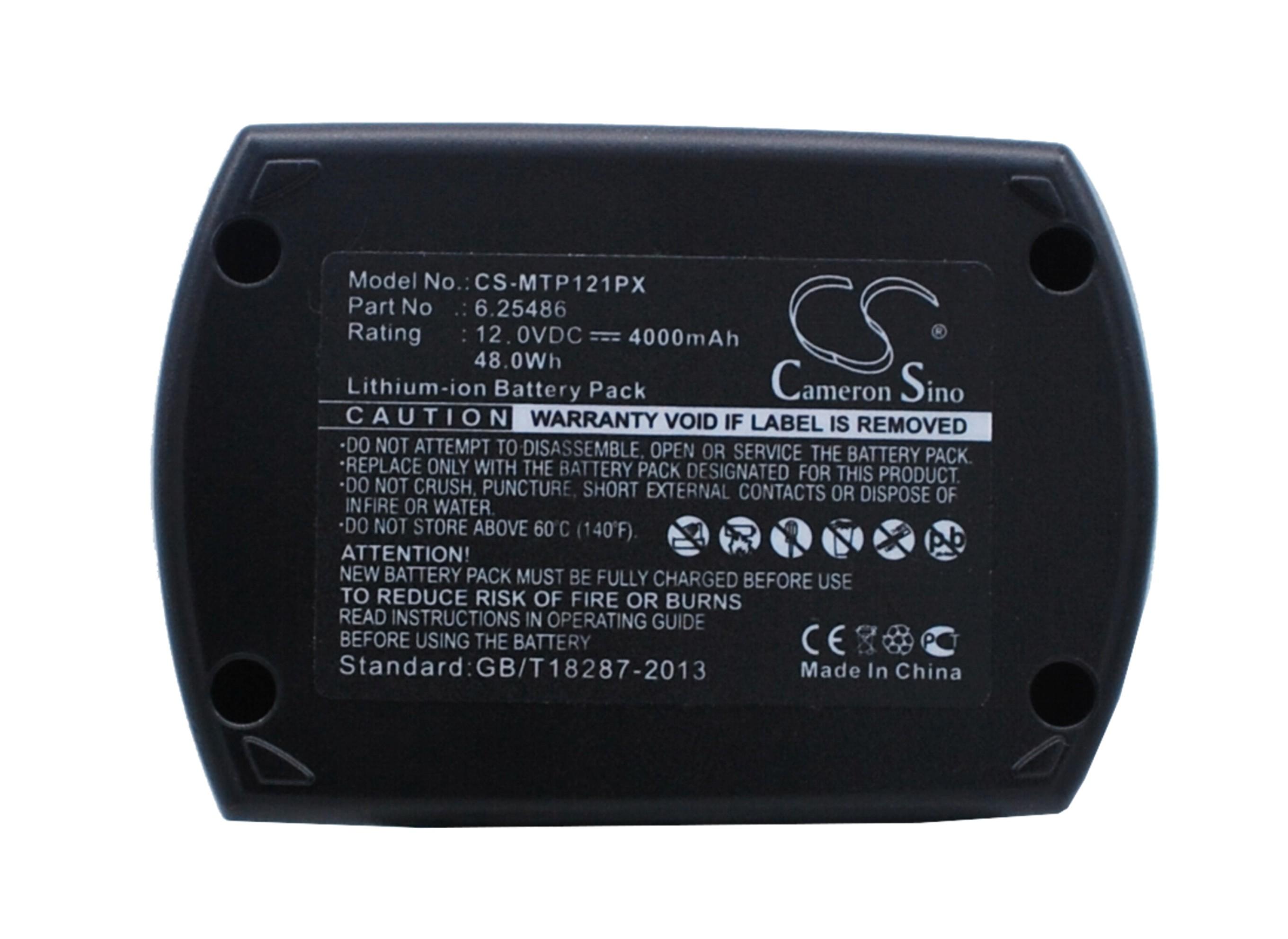 Cameron Sino baterie do nářadí pro METABO BSZ 12 Impuls 12V Li-ion 4000mAh černá - neoriginální