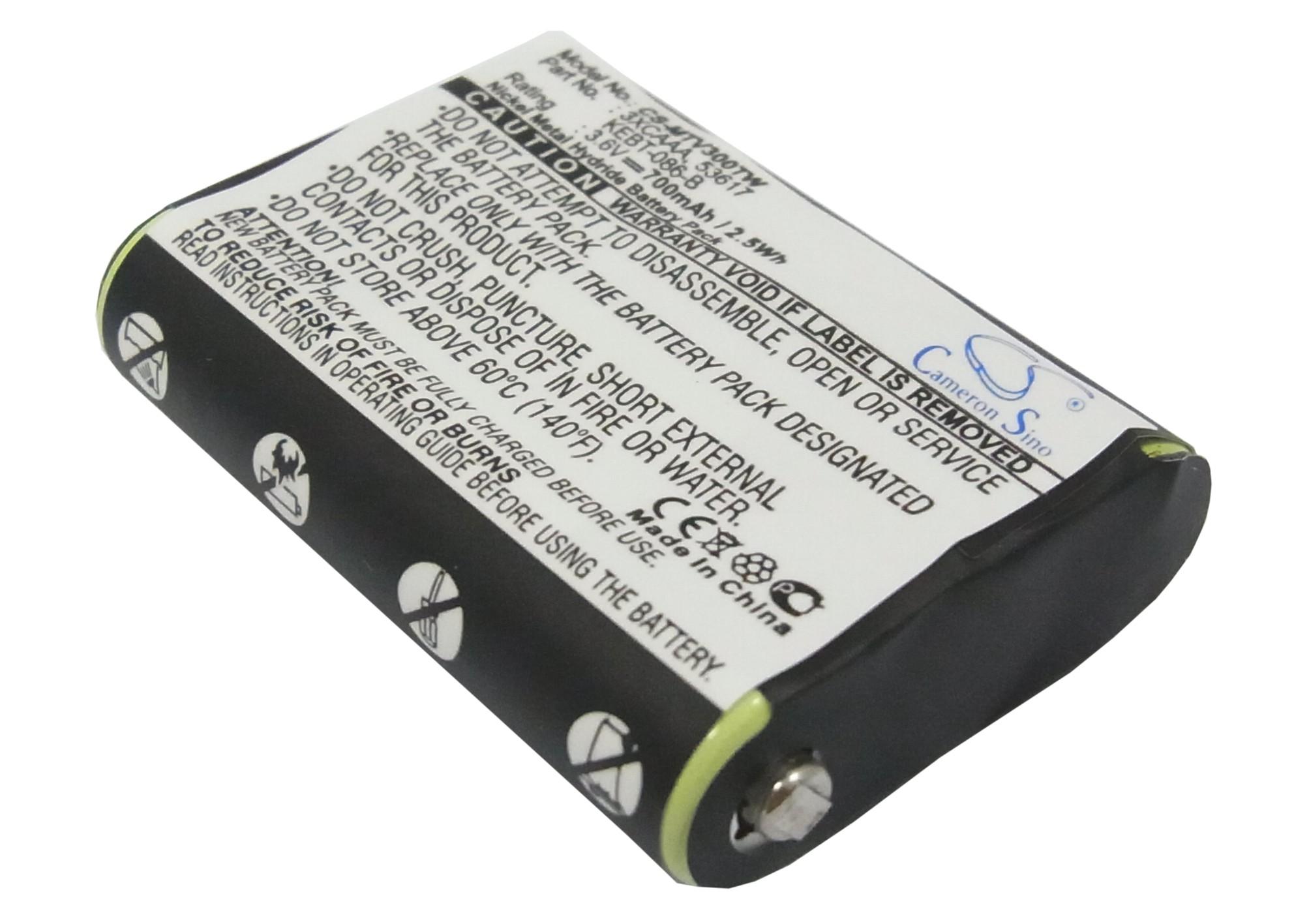 Cameron Sino baterie do vysílaček pro MOTOROLA SX500R 3.6V Ni-MH 700mAh černá - neoriginální