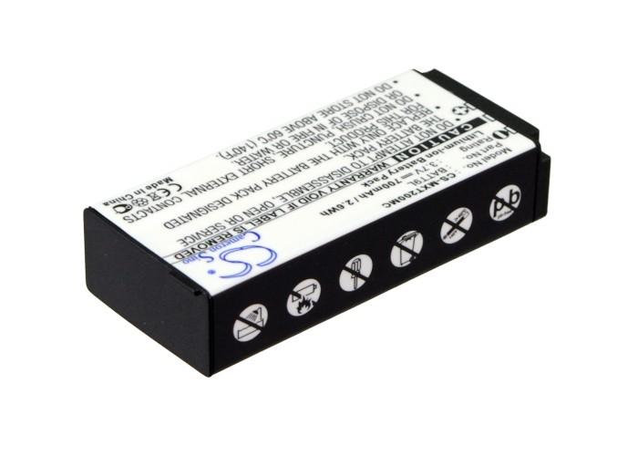 Cameron Sino baterie do kamer a fotoaparátů pro MIDLAND XTC-200 3.7V Li-ion 700mAh černá - neoriginální