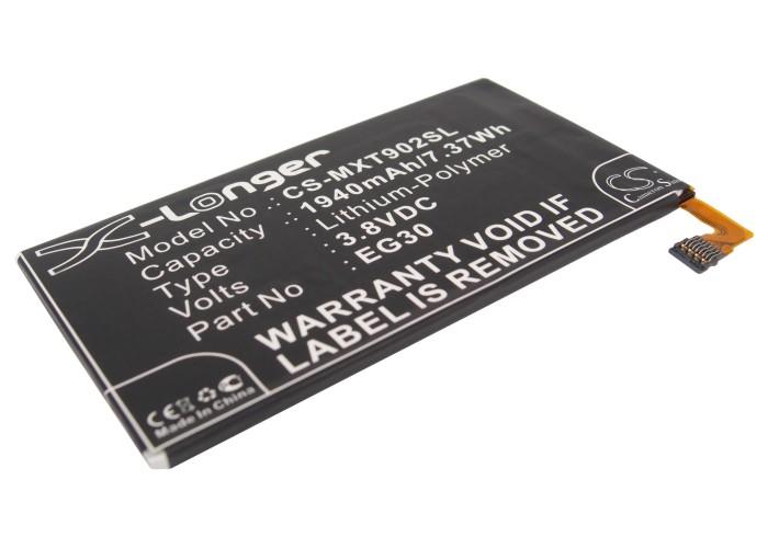Cameron Sino baterie do mobilů pro MOTOROLA DROID RAZR M 4G LTE 3.8V Li-Polymer 1940mAh černá - neoriginální