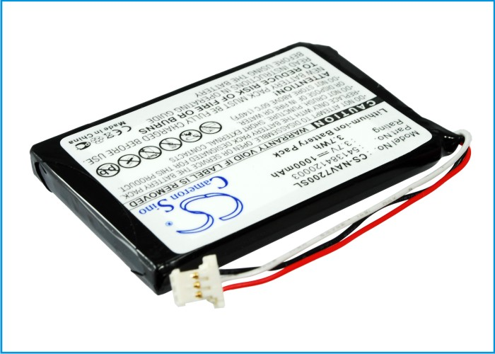 Cameron Sino baterie do navigací (gps) pro NAVIGON 72 Plus Live 3.7V Li-ion 1000mAh černá - neoriginální