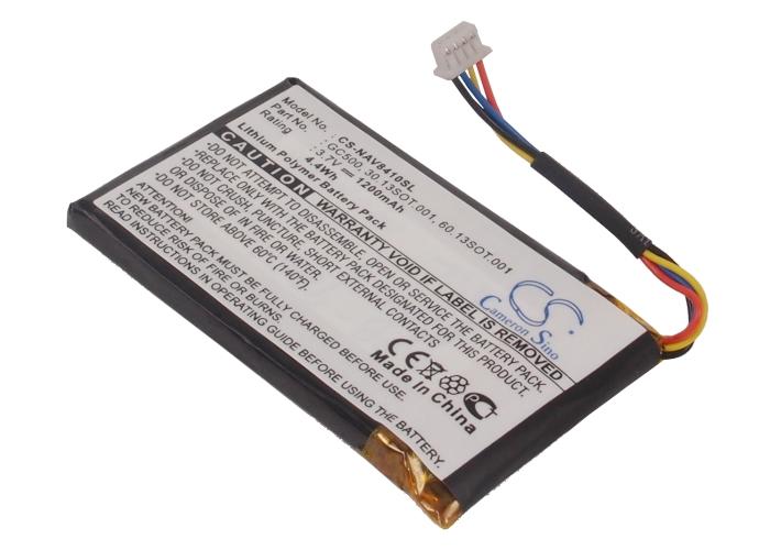 Cameron Sino baterie do navigací (gps) pro NAVIGON 8410 3.7V Li-Polymer 1200mAh černá - neoriginální