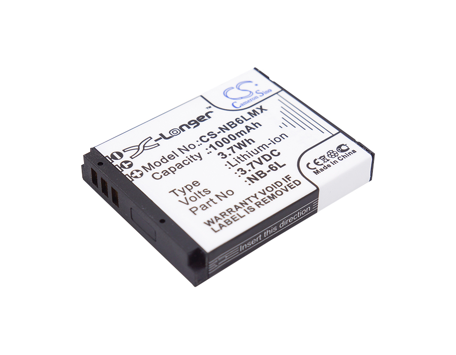 Cameron Sino baterie do kamer a fotoaparátů pro CANON PowerShot SX260 HS 3.7V Li-ion 1000mAh černá - neoriginální