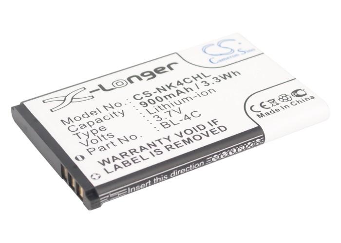 Cameron Sino baterie do mobilů pro NOKIA 6300 3.7V Li-ion 900mAh černá - neoriginální