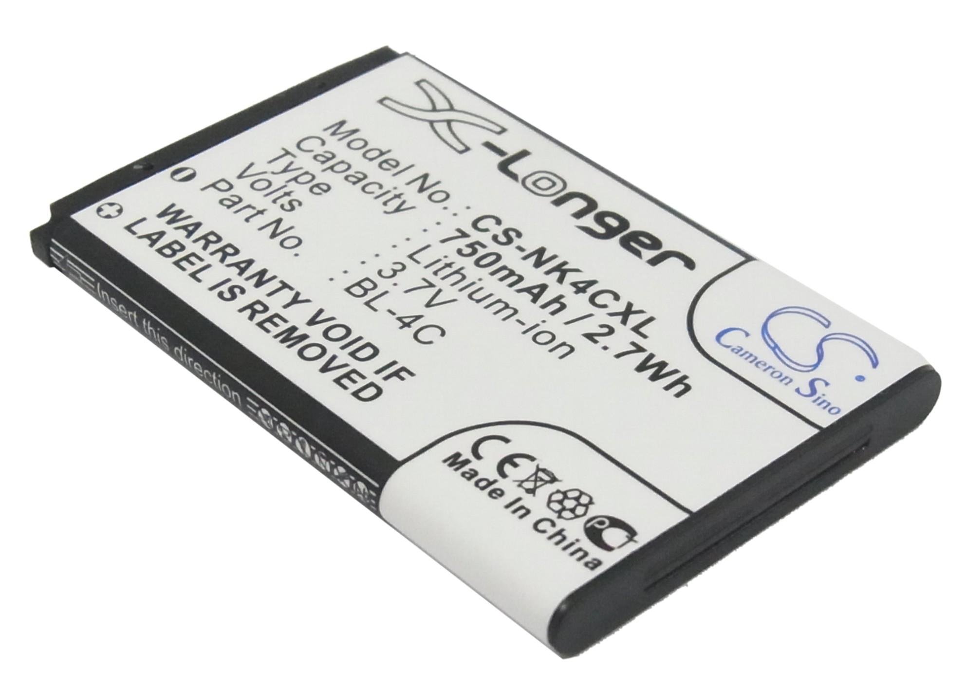 Cameron Sino baterie do mobilů pro NOKIA 6170 3.7V Li-ion 750mAh černá - neoriginální