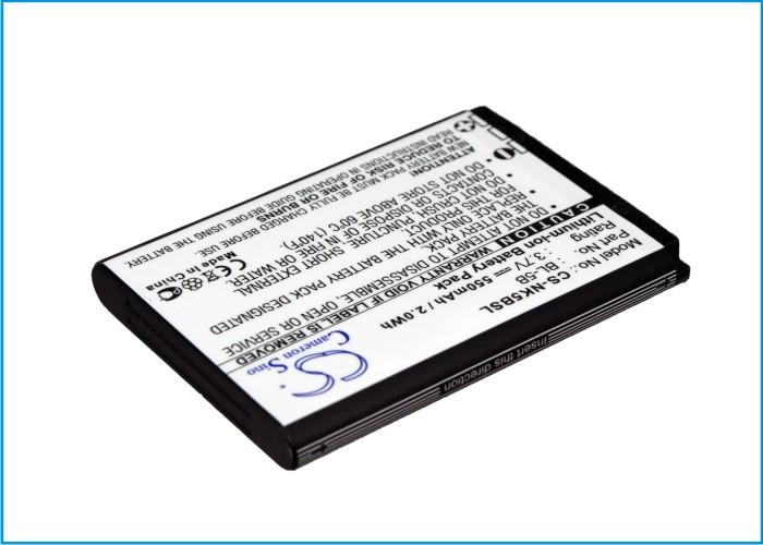Cameron Sino baterie do mobilů pro NOKIA 5140i 3.7V Li-ion 550mAh černá - neoriginální