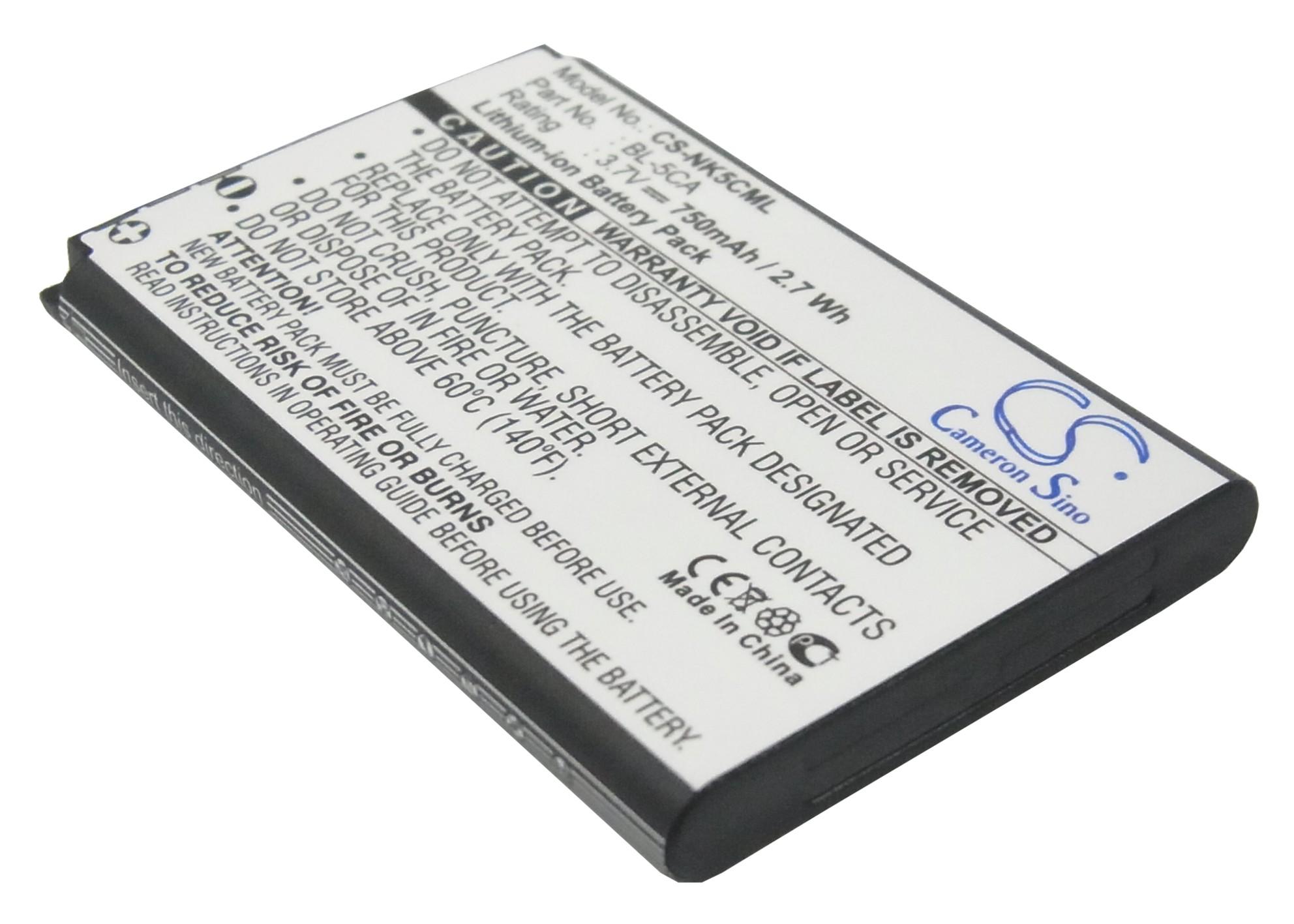 Cameron Sino baterie do mobilů pro NOKIA N-Gage 6630 3.7V Li-ion 750mAh černá - neoriginální
