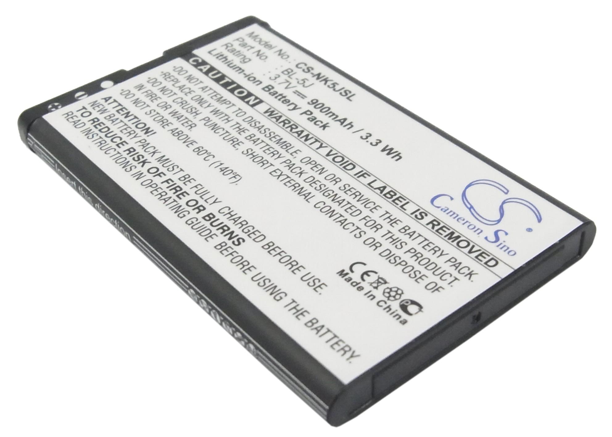 Cameron Sino baterie do mobilů pro NOKIA Lumia 530 Dual SIM 3.7V Li-ion 900mAh černá - neoriginální