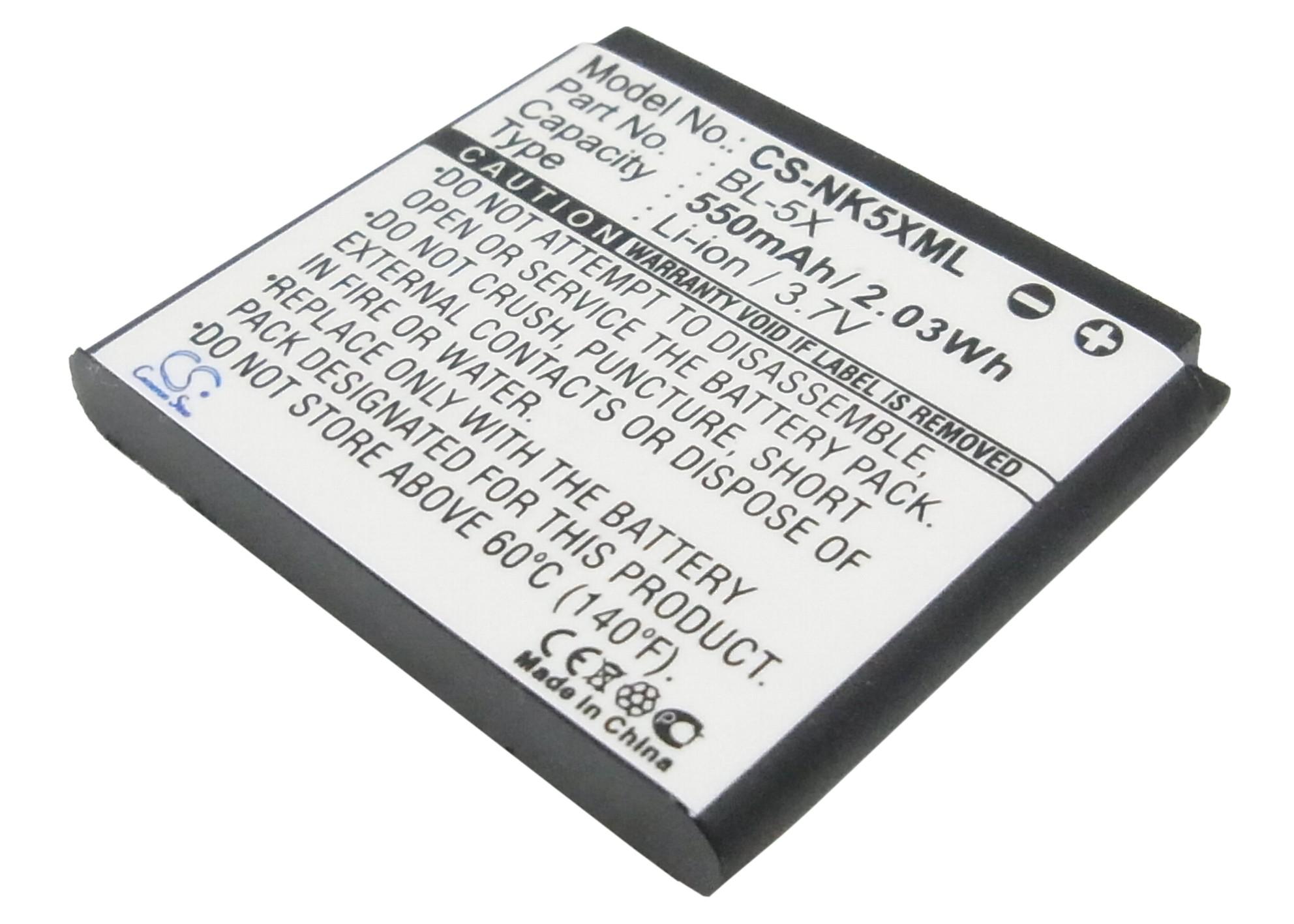 Cameron Sino baterie do mobilů pro NOKIA 8800 Sirocco 3.7V Li-ion 550mAh černá - neoriginální