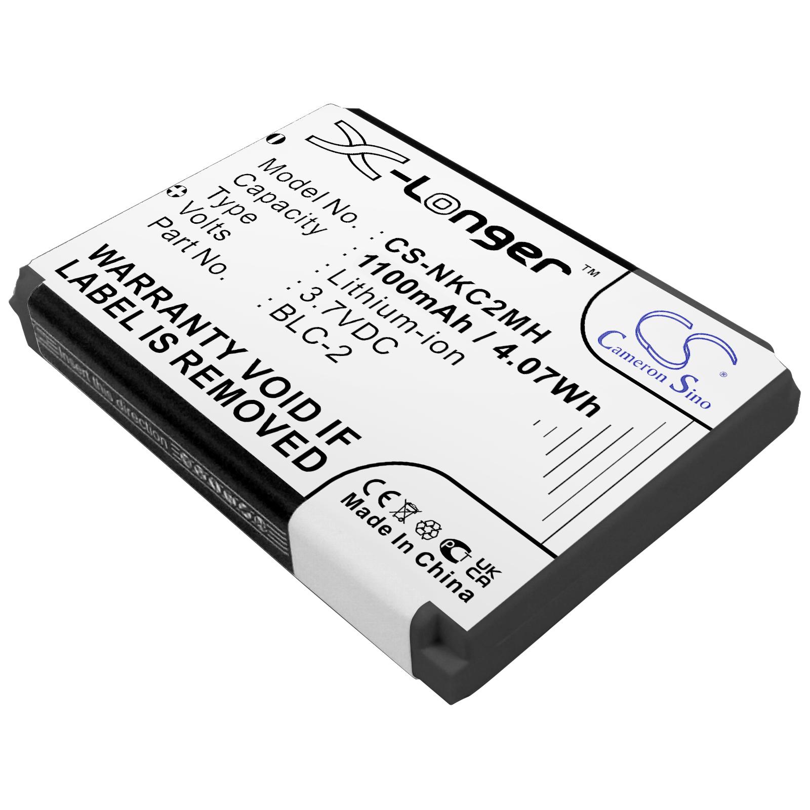Cameron Sino baterie do mobilů pro NOKIA 3310 3.7V Li-ion 1350mAh bílá - neoriginální