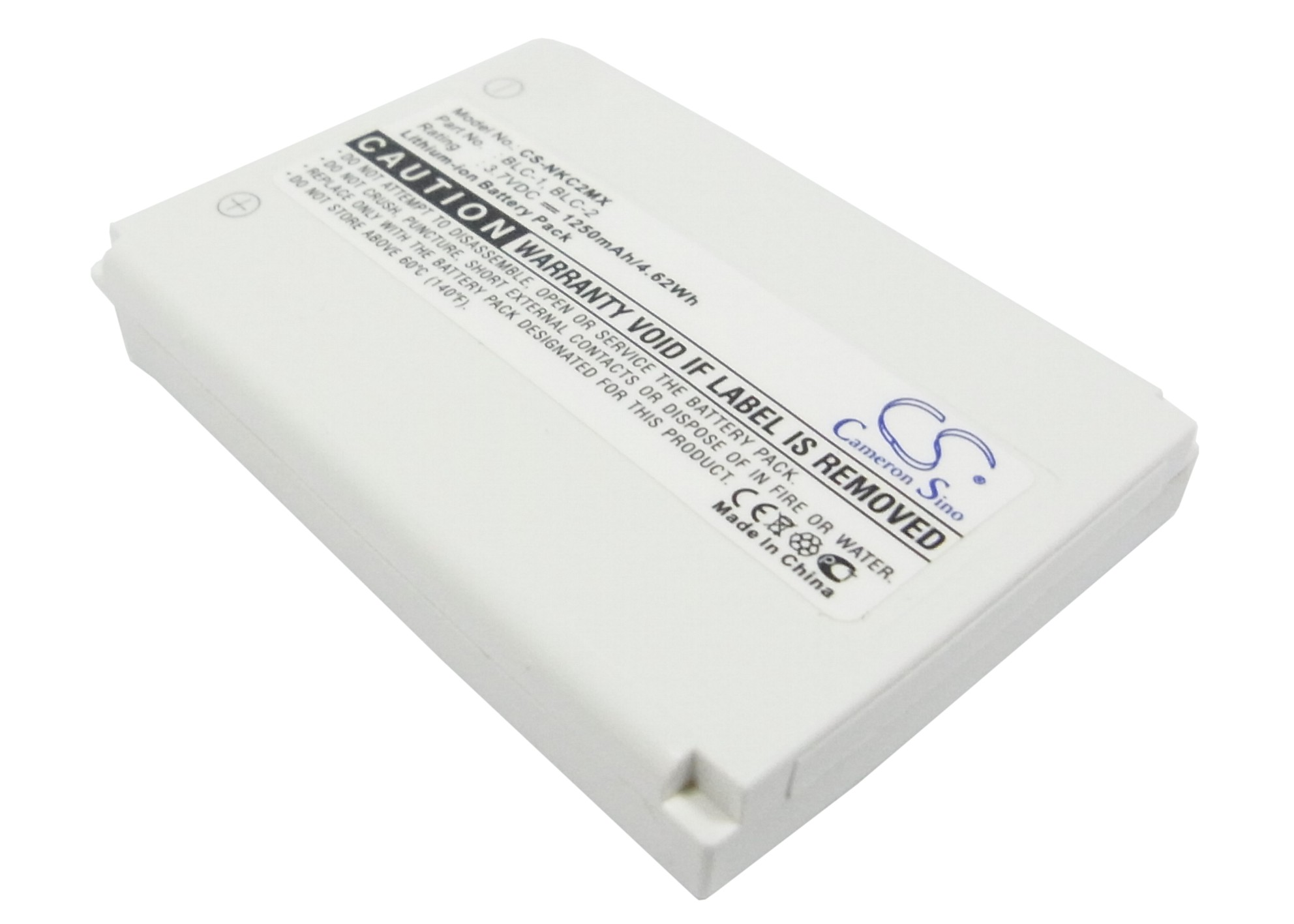 Cameron Sino baterie do mobilů pro NOKIA 3510 3.7V Li-ion 1250mAh bílá - neoriginální