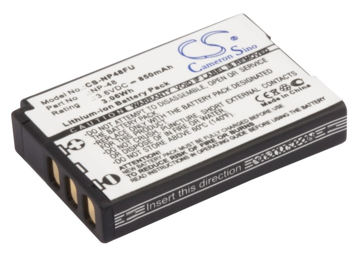 Cameron Sino baterie do kamer a fotoaparátů pro FUJIFILM XQ1 3.6V Li-ion 850mAh černá - neoriginální