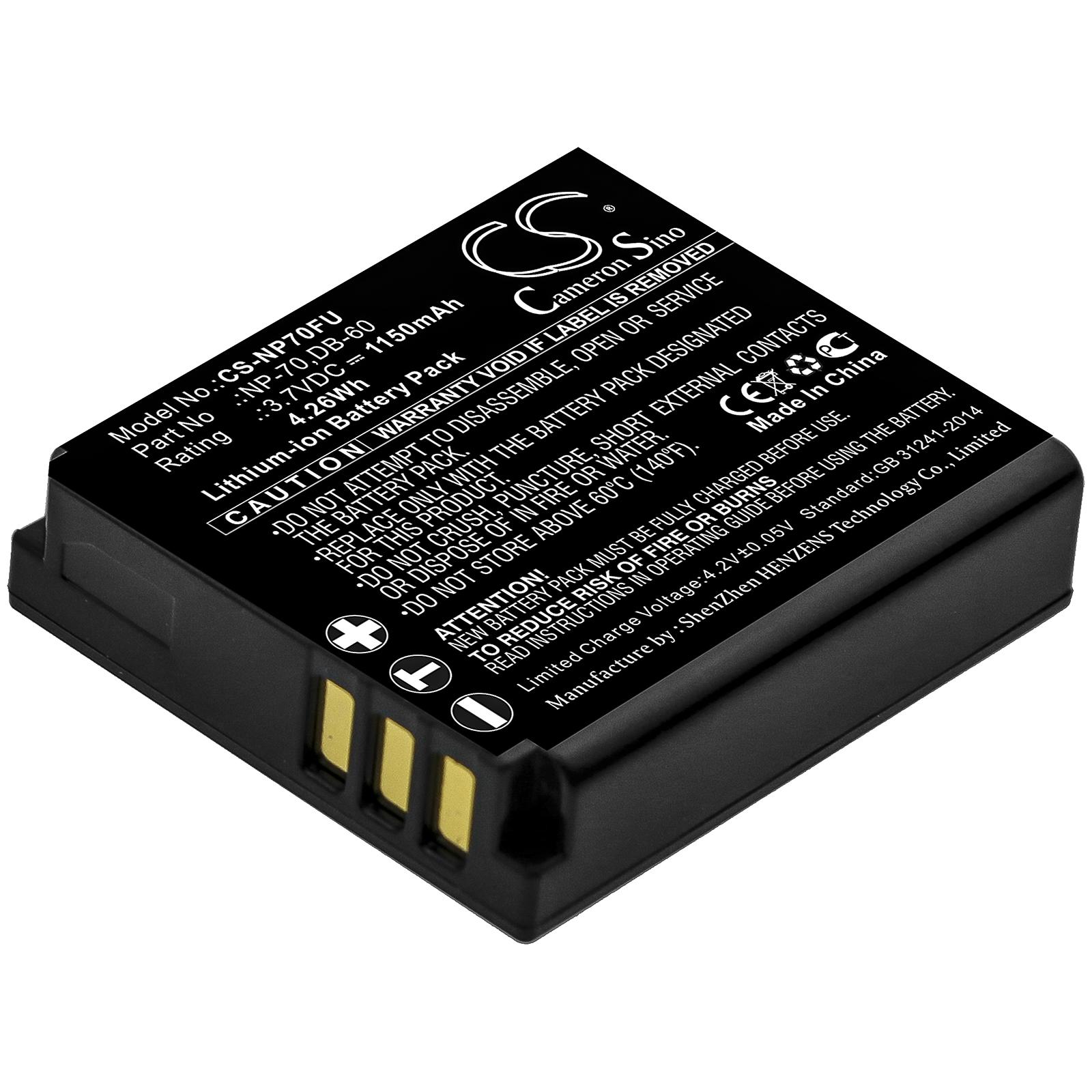 Akku-Batteria-1150mAh-fuer-PANASONIC-Lumix-DMC-FX07S-DMC-FX10-DMC-FX100EF-K