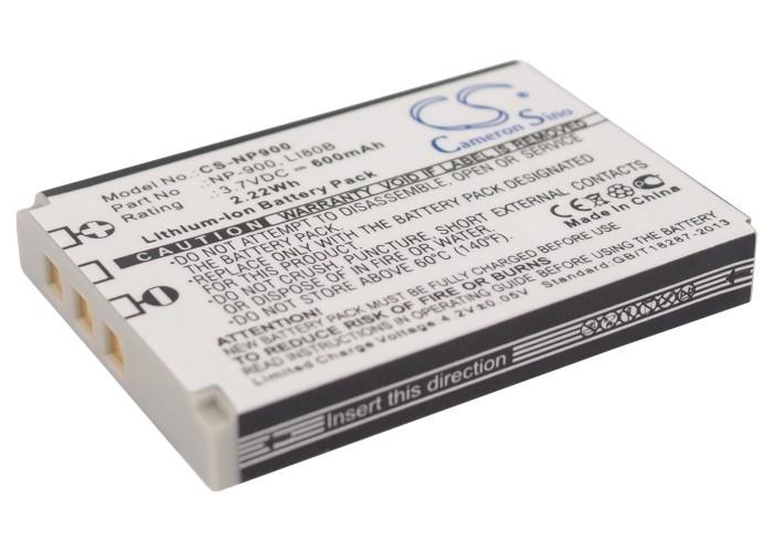 Cameron Sino baterie do kamer a fotoaparátů pro OLYMPUS X-960 3.7V Li-ion 600mAh černá - neoriginální