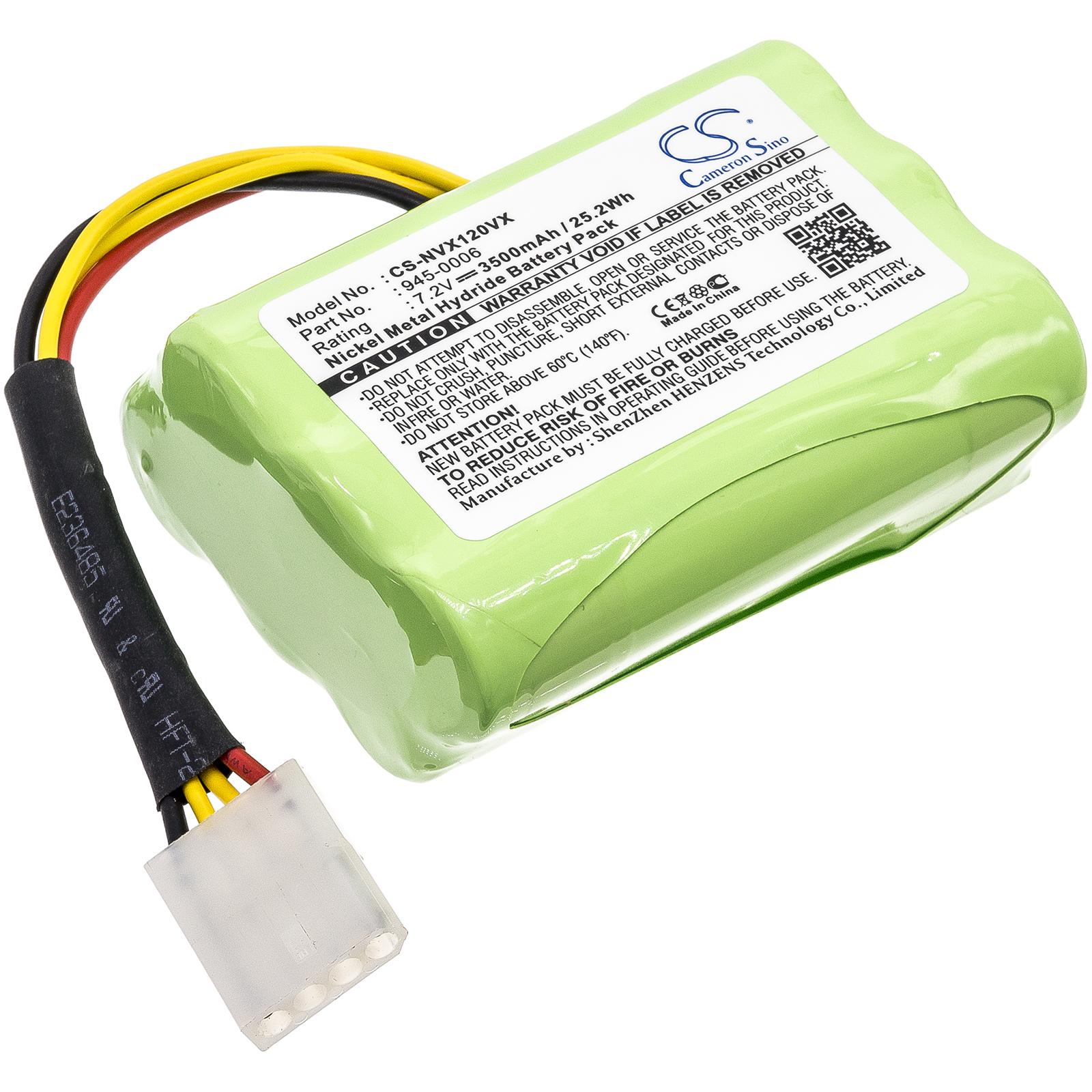 Cameron Sino baterie do vysavačů pro NEATO XV-11 7.2V Ni-MH 3500mAh zelená - neoriginální