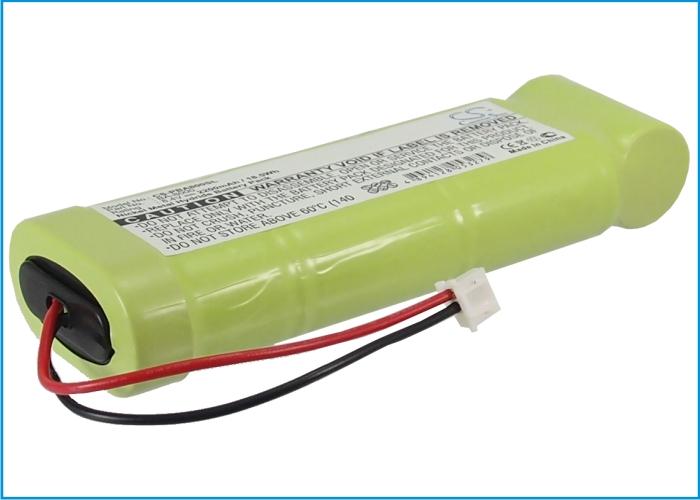 Cameron Sino baterie do tiskáren pro BROTHER P-Touch 2400 8.4V Ni-MH 2200mAh zelená - neoriginální