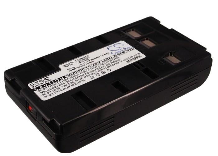 Cameron Sino baterie do kamer a fotoaparátů pro PANASONIC NV-G3 6V Ni-MH 2100mAh tmavě šedá - neoriginální