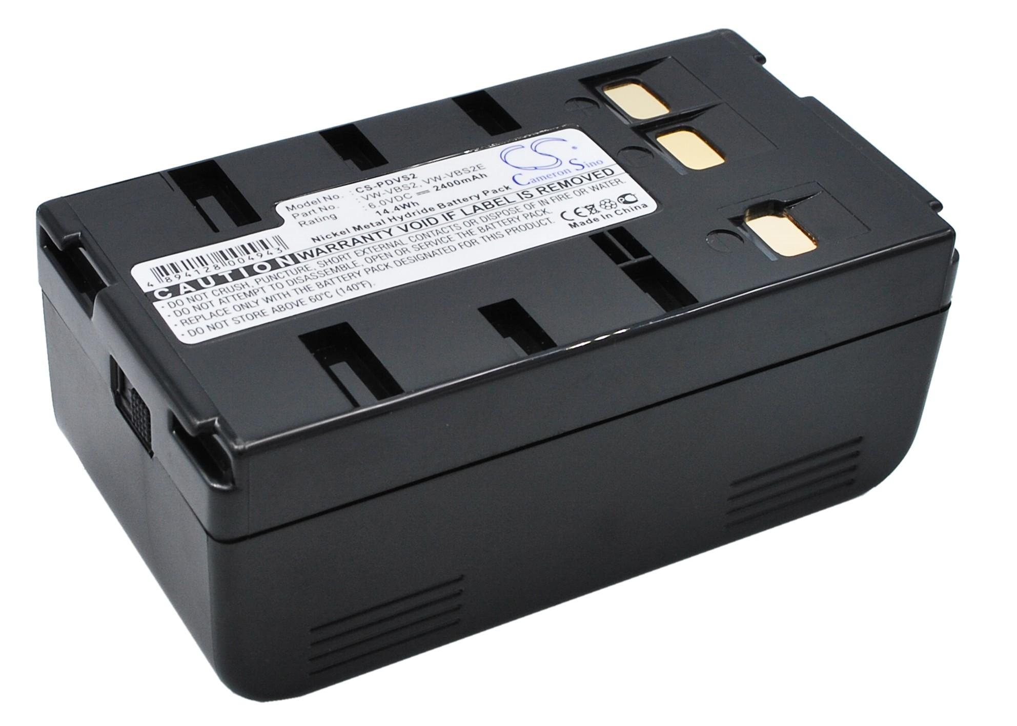 Cameron Sino baterie do kamer a fotoaparátů pro PANASONIC NV-G3 6V Ni-MH 2400mAh tmavě šedá - neoriginální