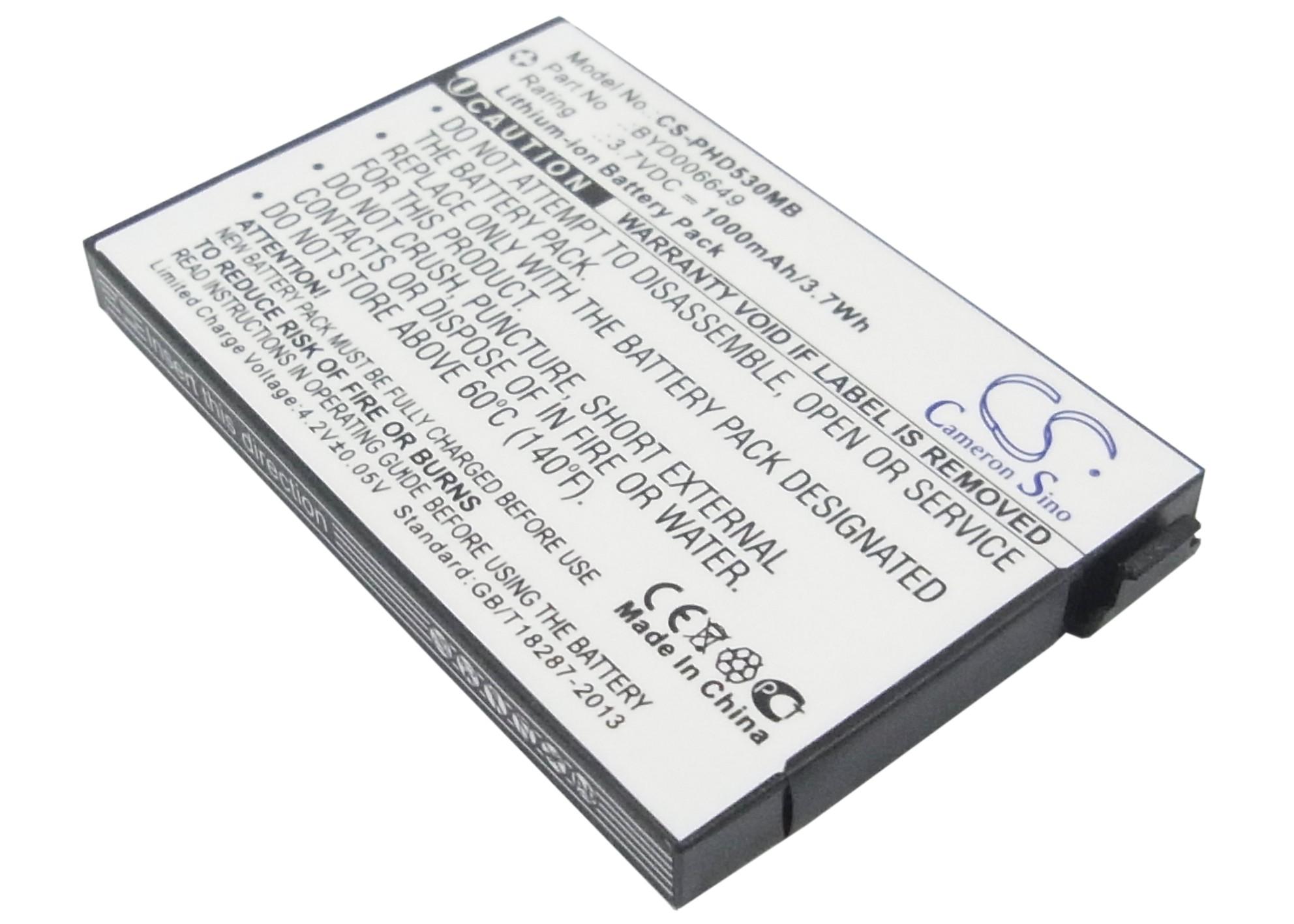 Cameron Sino baterie do dětských chůviček pro PHILIPS Avent SCD530 3.7V Li-ion 1000mAh černá - neoriginální