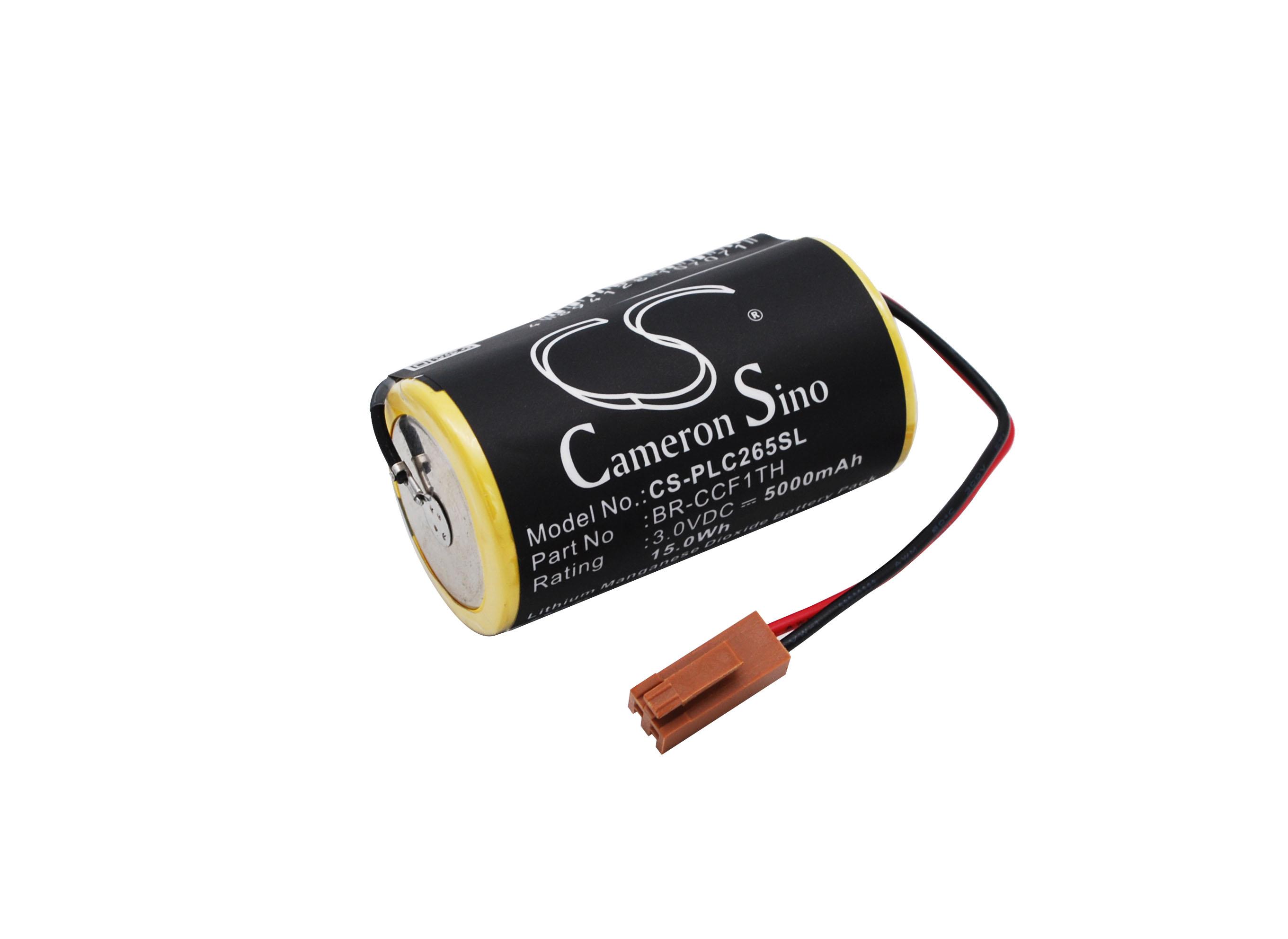 Cameron Sino baterie plc pro GE Fanuc CNC 16i 3V Li-MnO2 5000mAh žlutá - neoriginální