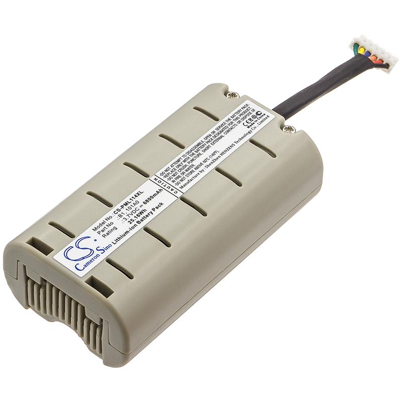 Cameron Sino baterie do digitálních rádií pro PURE Evoke D2 3.7V Li-ion 6800mAh šedá - neoriginální