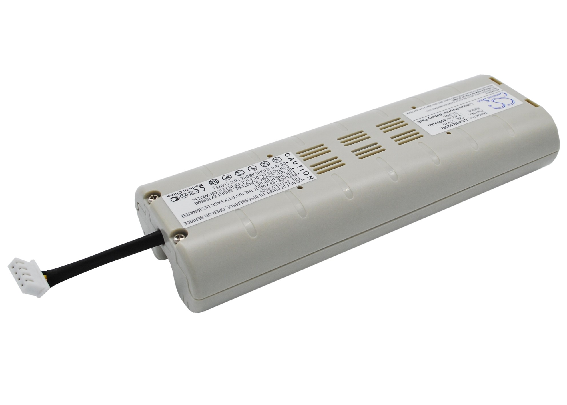 Cameron Sino baterie do digitálních rádií pro PURE Evoke 3 7.4V Li-Polymer 4500mAh šedá bílá - neoriginální