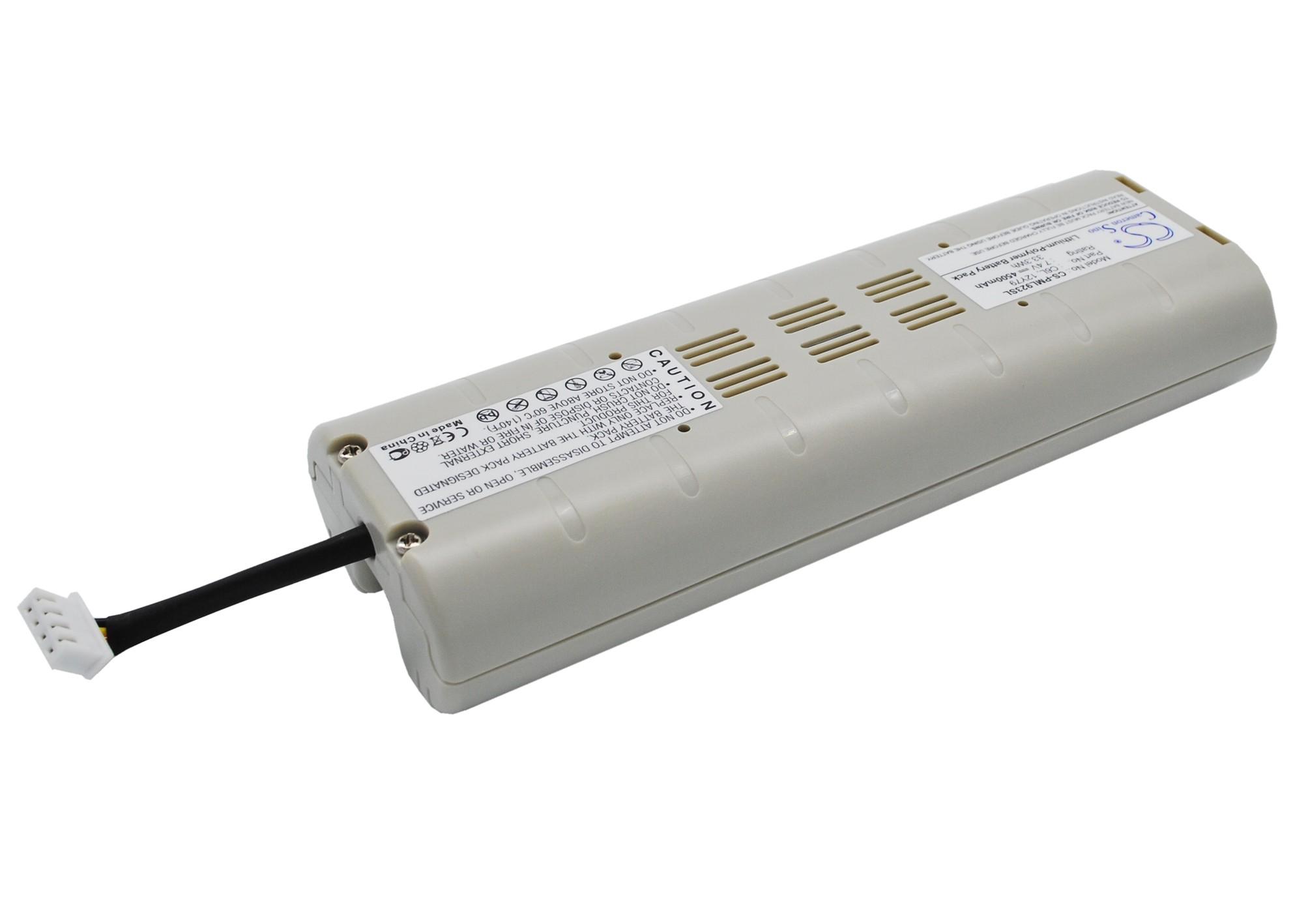 Cameron Sino baterie do digitálních rádií pro PURE Evoke-2XT 7.4V Li-Polymer 4500mAh šedá bílá - neoriginální