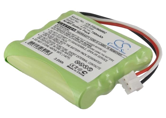 Cameron Sino baterie do dálkových ovladačů pro PHILIPS Pronto Pro 900 4.8V Ni-MH 750mAh zelená - neoriginální