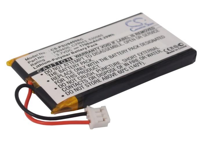 Cameron Sino baterie do dálkových ovladačů pro PHILIPS Pronto TSU-9400 3.7V Li-Polymer 1700mAh černá - neoriginální