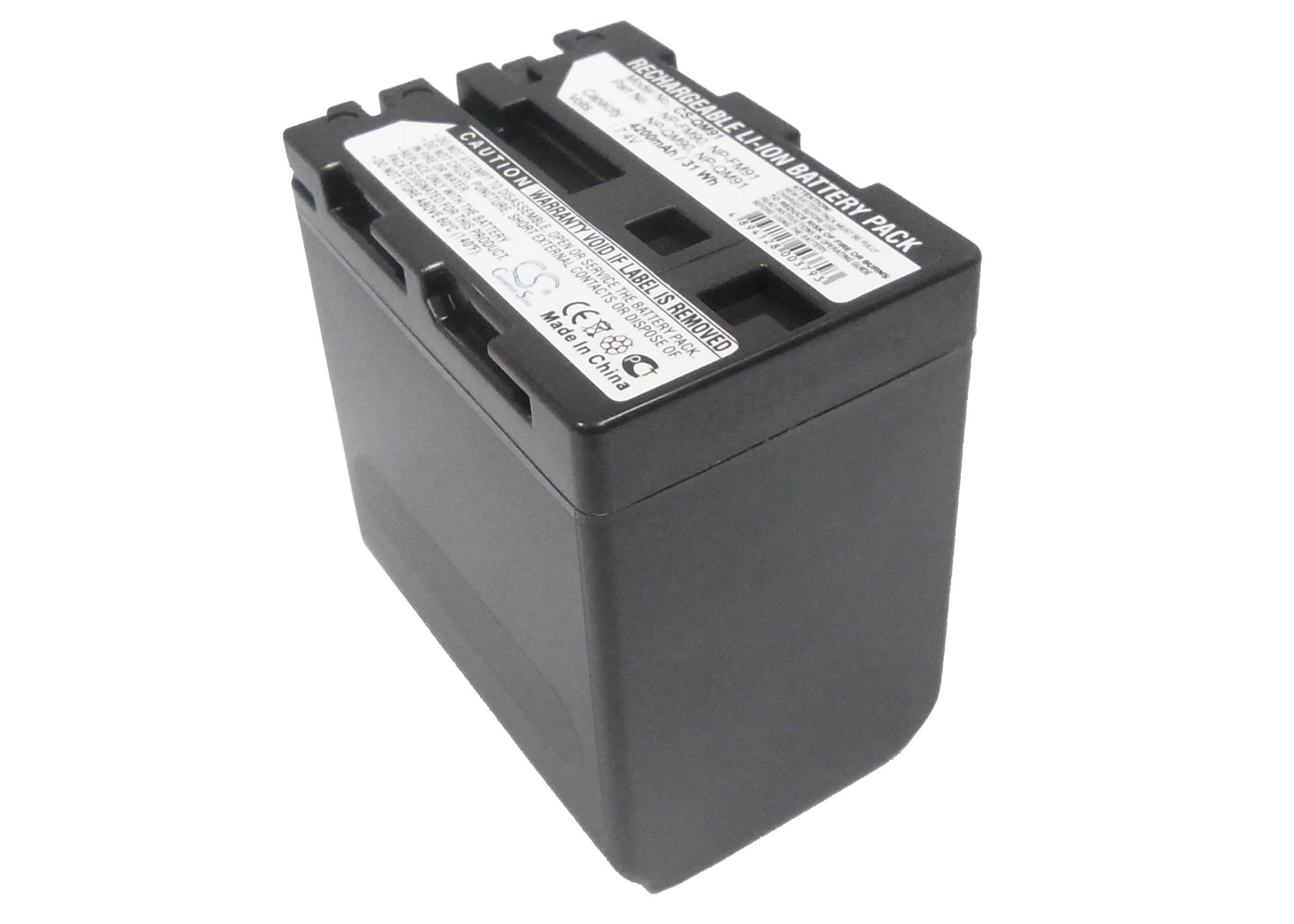 Cameron Sino baterie do kamer a fotoaparátů pro SONY DCR-TRV50 7.4V Li-ion 4200mAh tmavě šedá - neoriginální