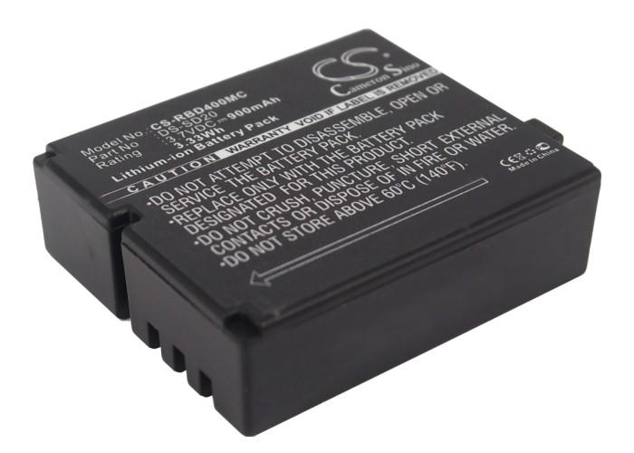 Cameron Sino baterie do kamer a fotoaparátů pro ROLLEI Bullet 5S 3.7V Li-Polymer 900mAh černá - neoriginální