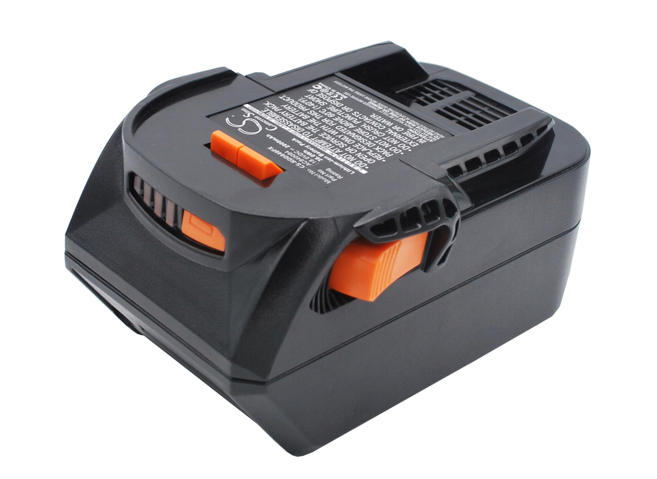 Cameron Sino baterie do nářadí pro AEG BSB 18 STX 18V Li-ion 2000mAh černá - neoriginální