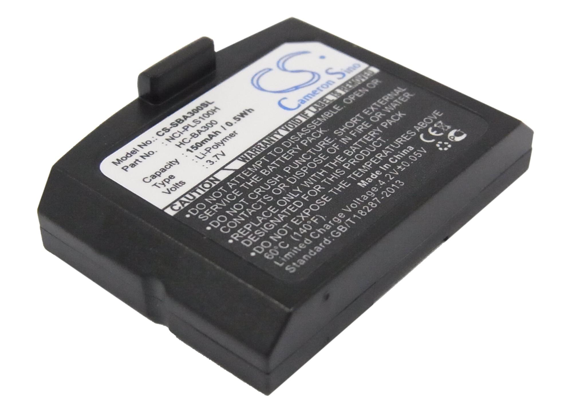 Cameron Sino baterie do bezdrátových sluchátek a headsetů pro SENNHEISER RS 4200 3.7V Li-Polymer 150mAh černá - neoriginální