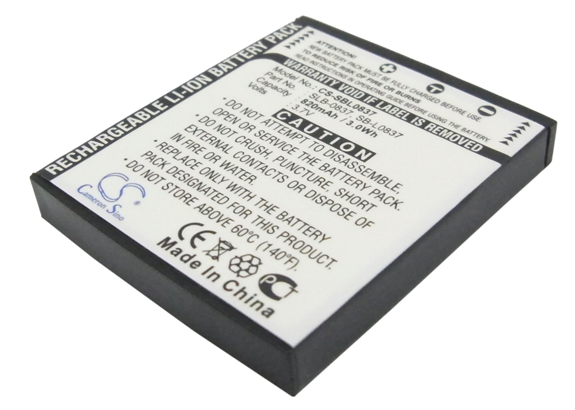 Cameron Sino baterie do kamer a fotoaparátů pro SAMSUNG Digimax i50 3.7V Li-ion 820mAh šedá - neoriginální